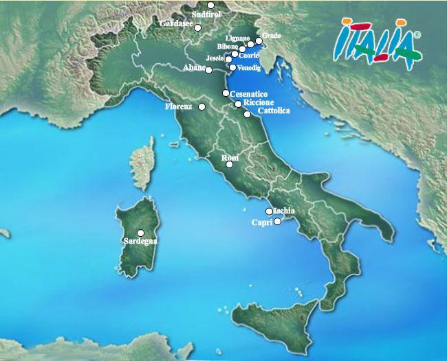 Carte Italie Bibione.Hotels E Residence Da 1 A 5 Stelle Nei Migliori Citta Italiana