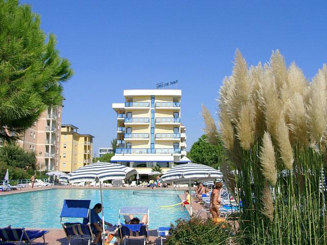 Hotel bellevue bibione 4 sterne hotel liegt in bibione spiaggia